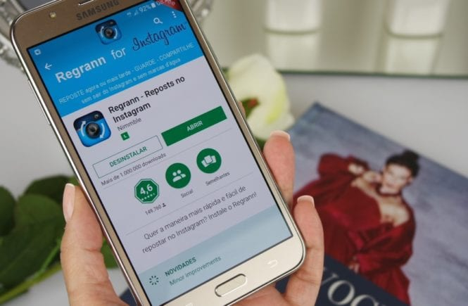 como repostar regrann app instagram dica blog da ana