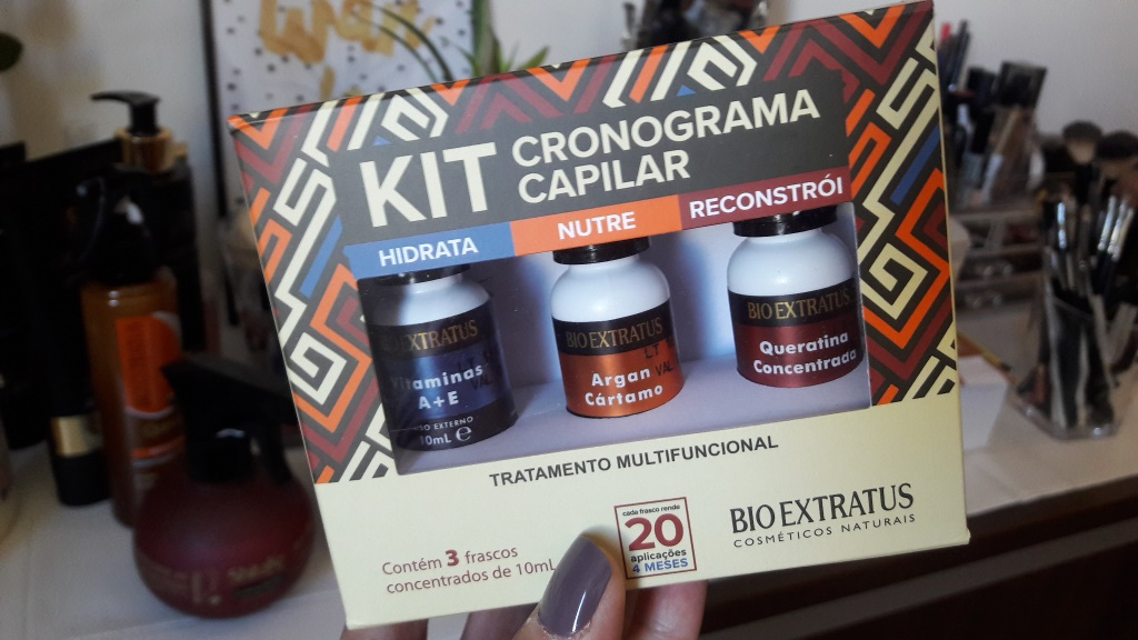 espaço beleza loja do barbeiro kit bioextratus blog da ana